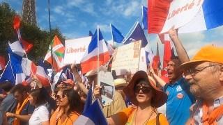Je ne veux pas être spectateur |  Manifs anti-pass à Paris, 4 septembre 2021