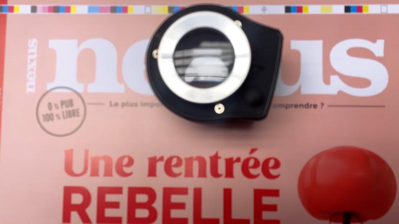 Savez-vous comment est fabriqué Nexus ? 116 pages, 0 PUB, made in France !