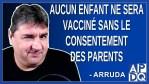 Aucun enfant ne sera vacciné sans le consentement des parents au Québec