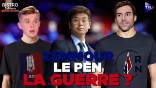 Le Pen – Zemmour : la guerre ? – Bistro Libertés – TVL
