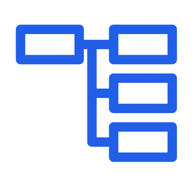 サイトマップ青