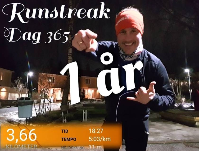 runstreak löpning