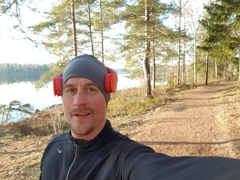 runstreak Daniel Karlsson löpare