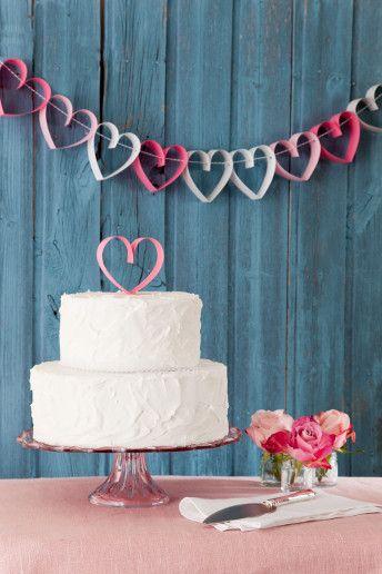 pastel de corazones