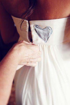 vestido de corazón
