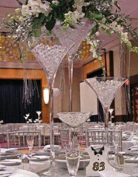 bodas de cristal decoración