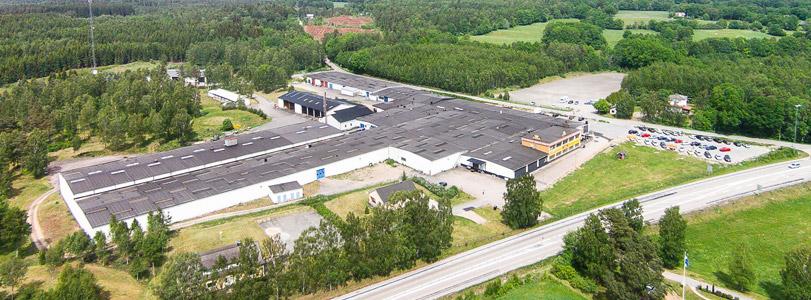 Tyringe Företagsby, översiktsfoto från S