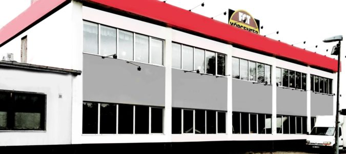 TF fasadhuset