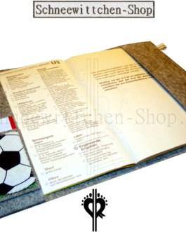 U-Hefthülle für Fussballer