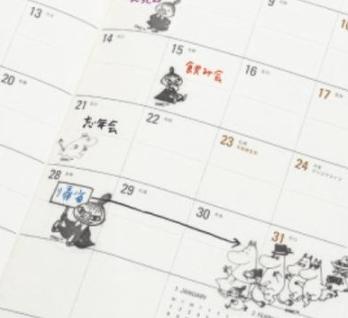 InRed 2018年1月号付録:リトルミィ福袋&ローラアシュレイカレンダー。