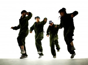 Break Dancers --- Image by © Royalty-Free/Corbis