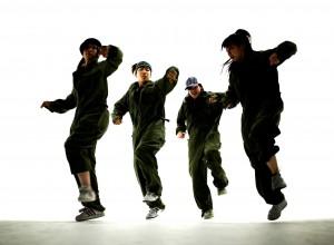 Break Dancers --- Image by © Royalty-Free/Corbis