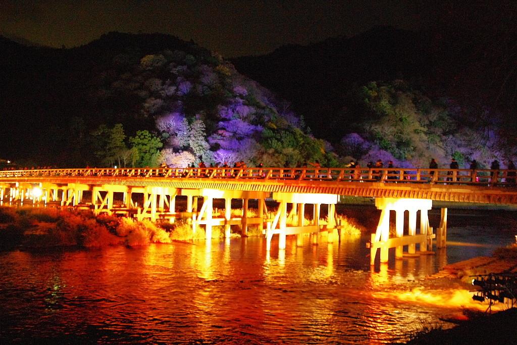 嵐山 紅葉 ライトアップ
