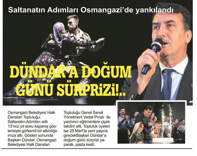 Saltanatın Adımları Osmangazi'de Yankılandı