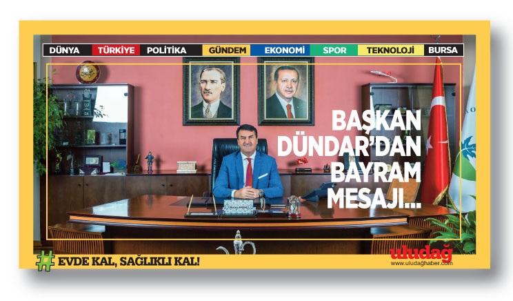 Başkan Dündar'dan Bayram Mesajı