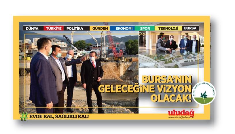 Milletvekillerinden Osmangazi Meydanı'na Övgü