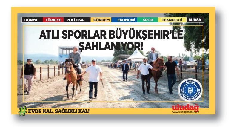 Atlı sporlar Büyükşehir'le şahlanıyor