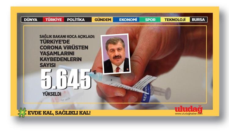 Türkiye'de corona virüsten son 24 saatte 15 can kaybı, 963 yeni vaka