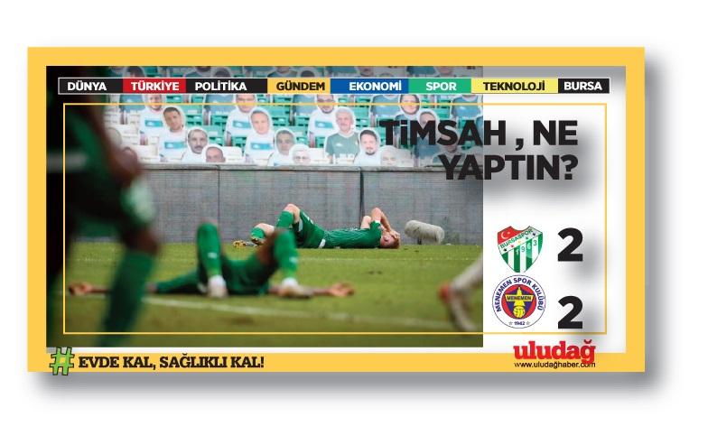 Bursaspor fırsat tepti!