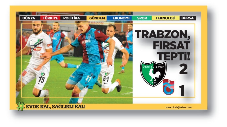 Denizlispor 2-1 Trabzonspor