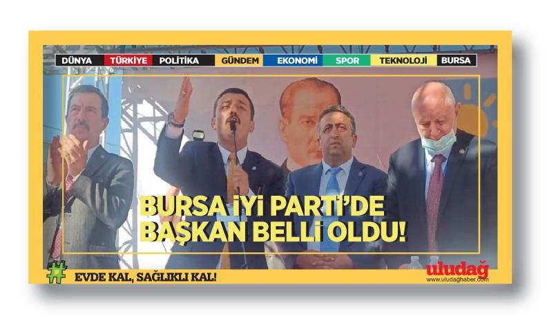 İYİ Parti Bursa'da Başkan belli oldu