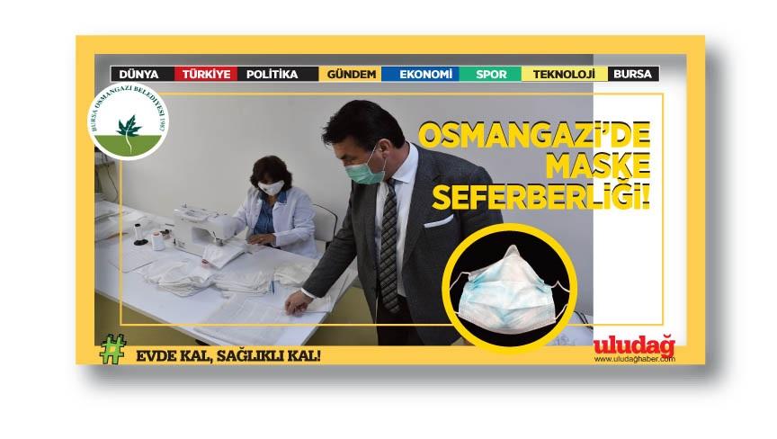 Osmangazi'den öğrencilere özel maske…