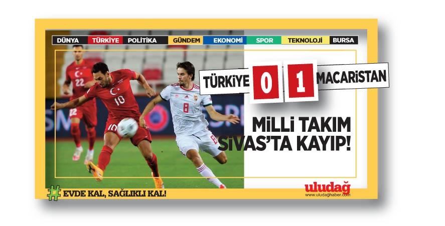 Türkiye Uluslar Ligi'ne mağlubiyetle başladı