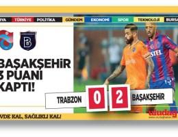 Trabzonspor – Başakşehir maç sonucu: 0-2