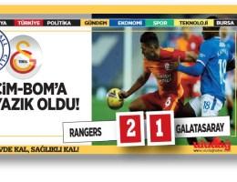 Rangers:2-Galatasaray:1