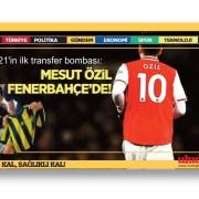 2021'in ilk transfer bombası: Mesut Özil Fenerbahçe'de!