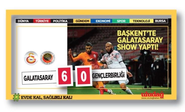 BAŞKENT'TE GALATASARAY SHOW YAPTI!