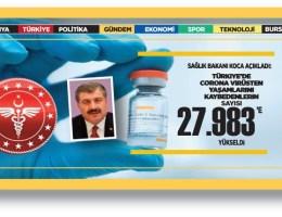 Türkiye'nin 20 Şubat Korona virüs tablosu açıklandı