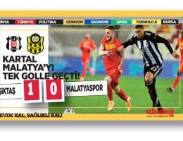 Beşiktaş 1-Y.Malatyaspor 0