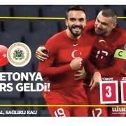 Türkiye – Letonya 3-3