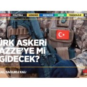 Türk askeri Gazze'ye mi gidecek?