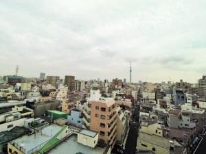 ライジングプレイス浅草NORTH 1003号室眺望