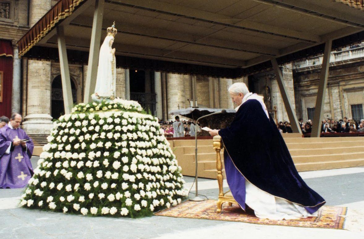 Juan pablo II virgen de fatima