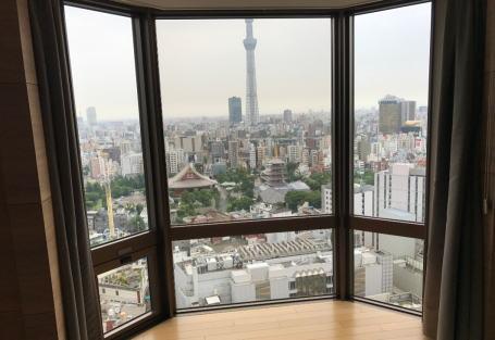 東京浅草で広い家族連れに適したホテルは?