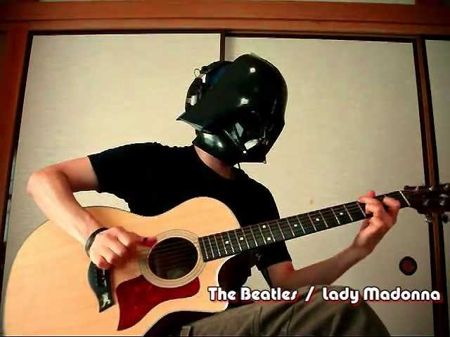 【The Beatles】 Lady Madonna  Guitar Cover