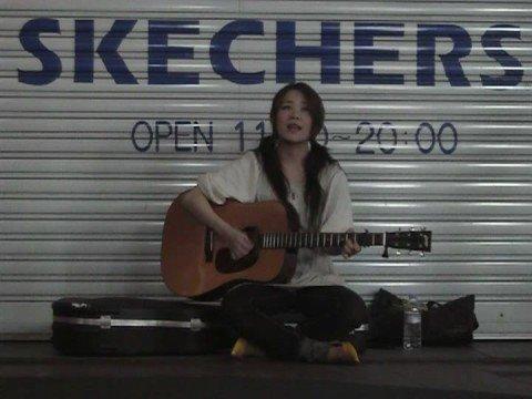 森恵 「星空はまるで」 2008・6・25 吉祥寺路上