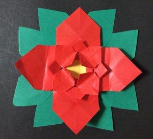 poinsetia.origami.37