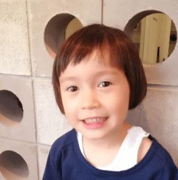 kodomo hair maegami