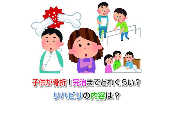 Children fractures Eye-catching image