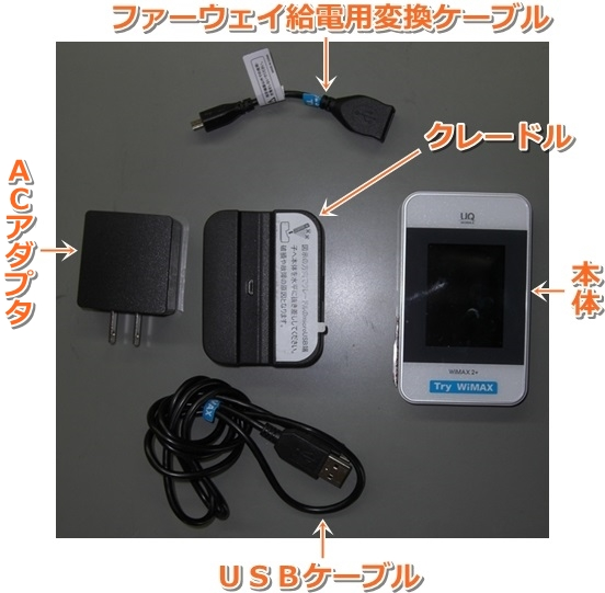 Try WiMAX 中身 取り出し