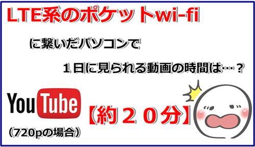 youtube 20分