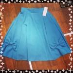 しまむら◎6月4日更新!!最新しまパト戦利品!☆ミラクルクローゼット新作!裾リボンスカート☆