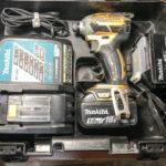 マキタ makita 日立HITACHIなどの電動工具の買い取りをさせていただきました。