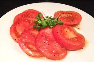 冷やしトマト 酢玉ねぎ