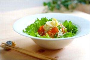 酢玉ねぎのイタリアン素麺