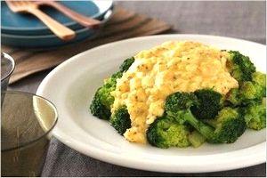 ゆで卵とブロッコリーのボリュームサラダ